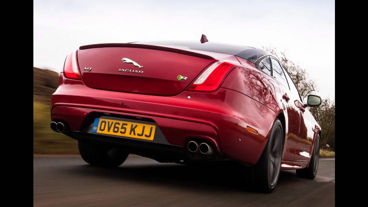 Próximo Jaguar XJ se transformará no mais novo rival do Porsche Panamera