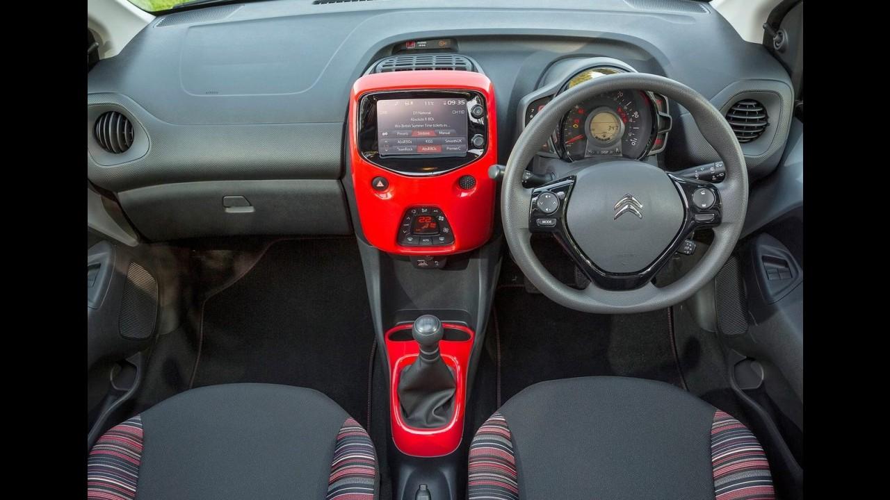 Caçula da família, Citroën C1 ganha versão com visual esportivo