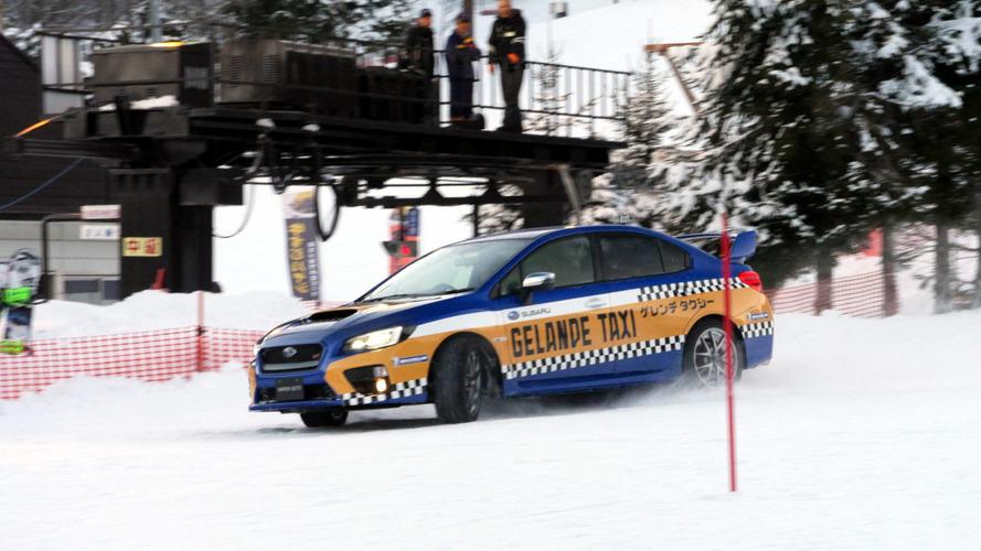 Subaru, Gelande Taxi ile teleferiğe alternatif sunuyor