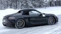 Porsche Boxster Spyder spy photo