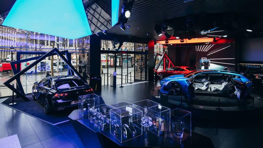 Peugeot Avenue Paris 508