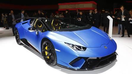 96 Photos Lamborghini Huracan Performante Spyder At The 2018 Geneva Motor  Show