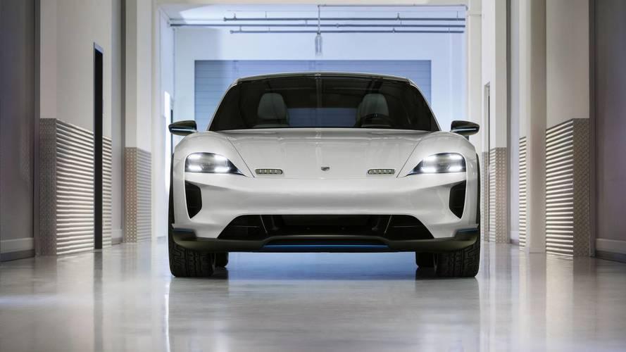 Porsche Mission E Cross Turismo koncepció