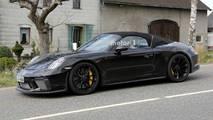 Porsche 911 Speedster Spy Photos