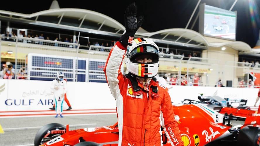 Vettel resiste el órdago de Mercedes y sale más líder de Bahrein