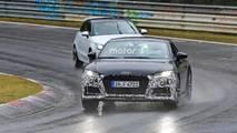 Makyajlı Audi TT casus fotoğraflar