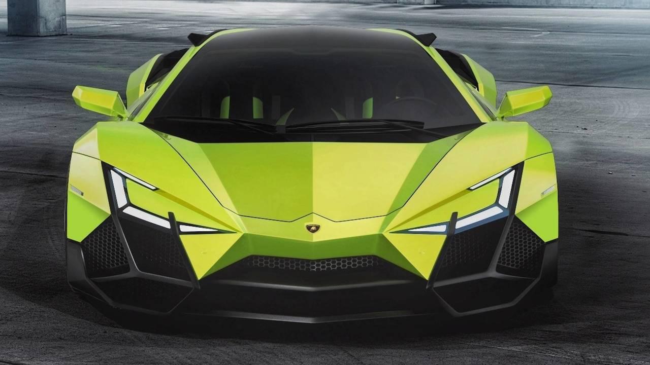 Lamborghini Forsennato Hypercar Rendering Photo