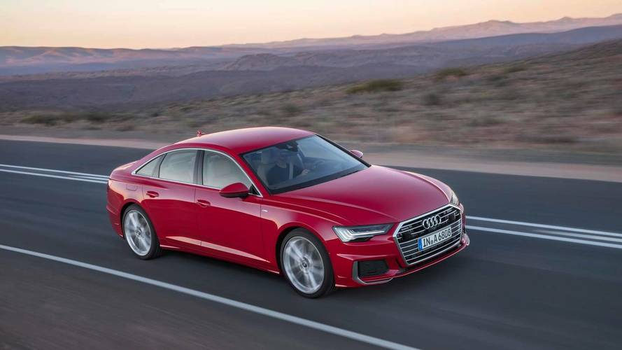 2018 Audi A6 official pictures