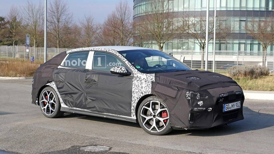 Hyundai i30 N Fastback Spied Showing More Shapely Hindquarters