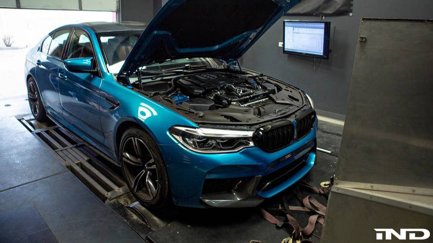VIDÉO - La BMW M5 serait plus puissante que prévu