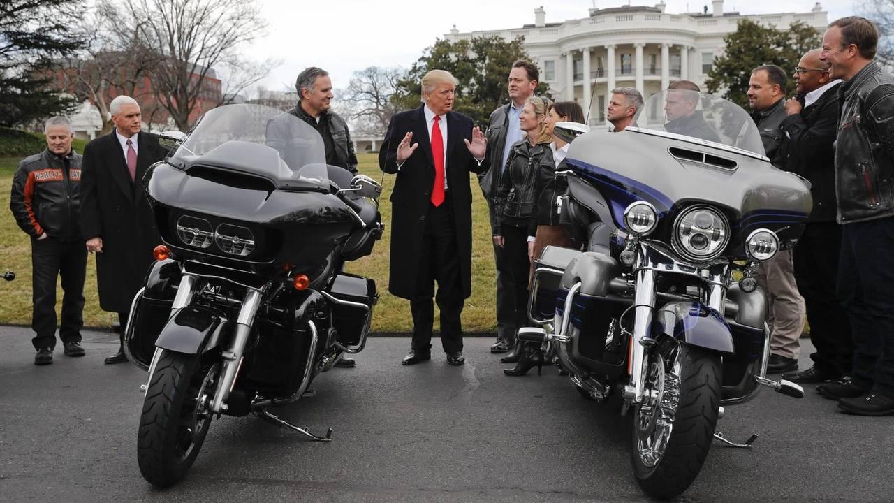 Donald Trump ve Motosikletler
