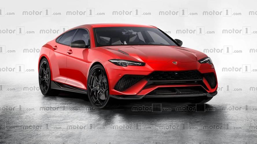 Lamborghini Four-Door Sedan Imagined, But Will It Happen?