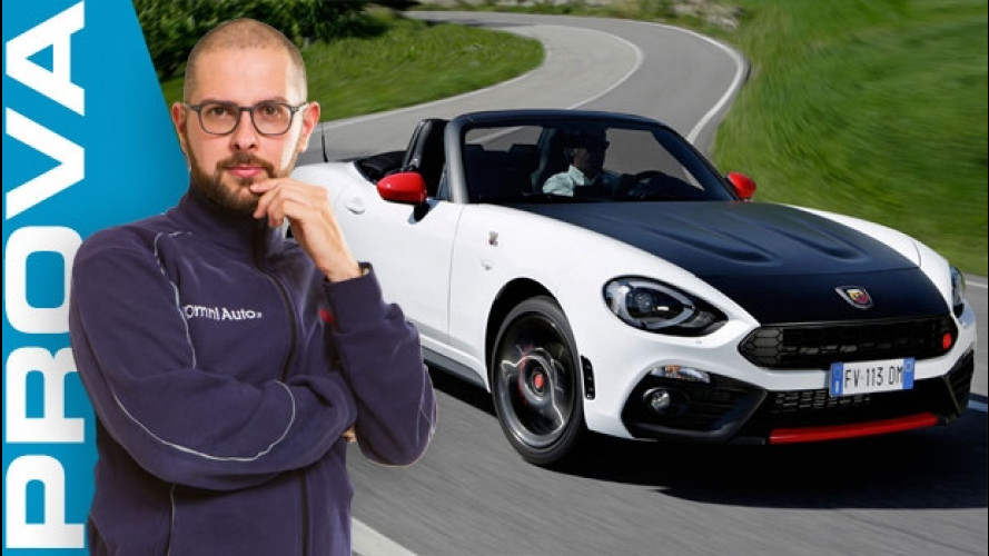 Abarth 124 spider, primi chilometri da brividi [VIDEO]