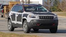 Jeep Cherokee Trailhawk Spy Shots