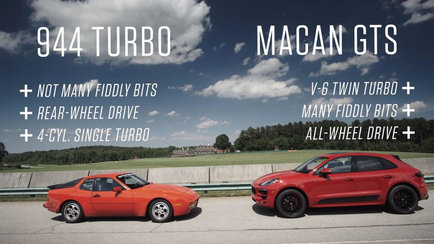 Porsche Macan GTS 2017, ¿puede con un Porsche 944 Turbo en circuito?