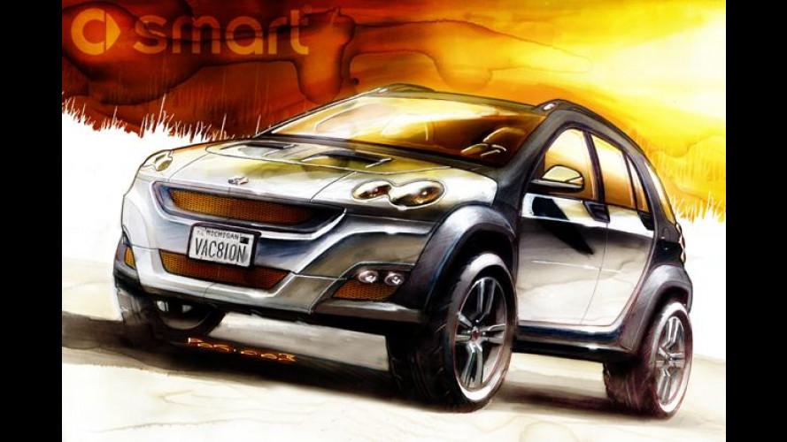 Smart-SUV: Vierte Modellreihe soll im Jahr 2006 starten
