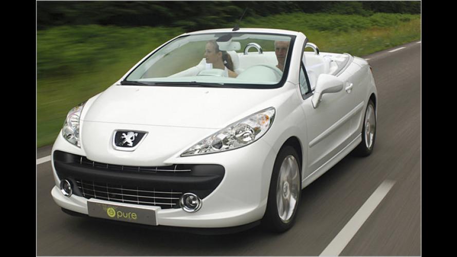 So sieht er aus: Der neue Peugeot 207 CC taucht in Paris auf