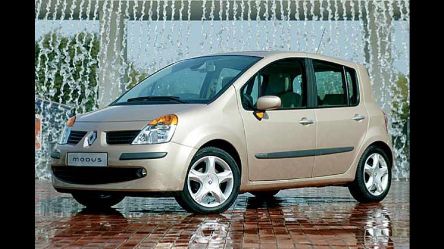 Renault Modus: Hersteller gibt die Preise bekannt