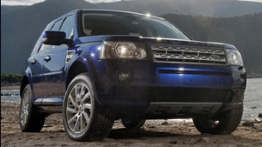 Land Rover Freelander Metropolis, serie speciale da anticamera