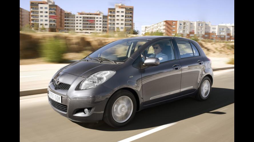 Toyota Yaris: ibrida dal 2011