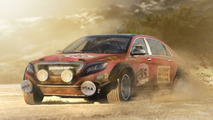 Mercedes-Benz S Class rally car