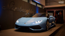 Lamborghini Huracan Spyder at Lamborghini Washington