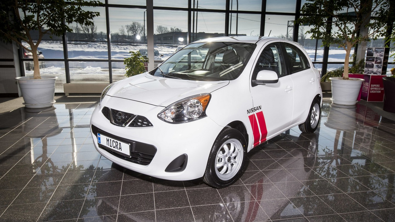 2016 Nissan Micra Cup