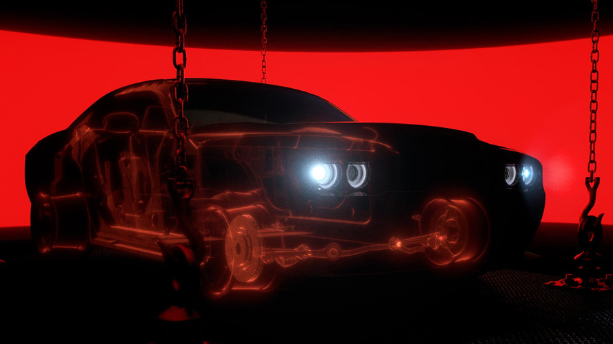2018 Dodge Challenger Demon is lighter than Hellcat