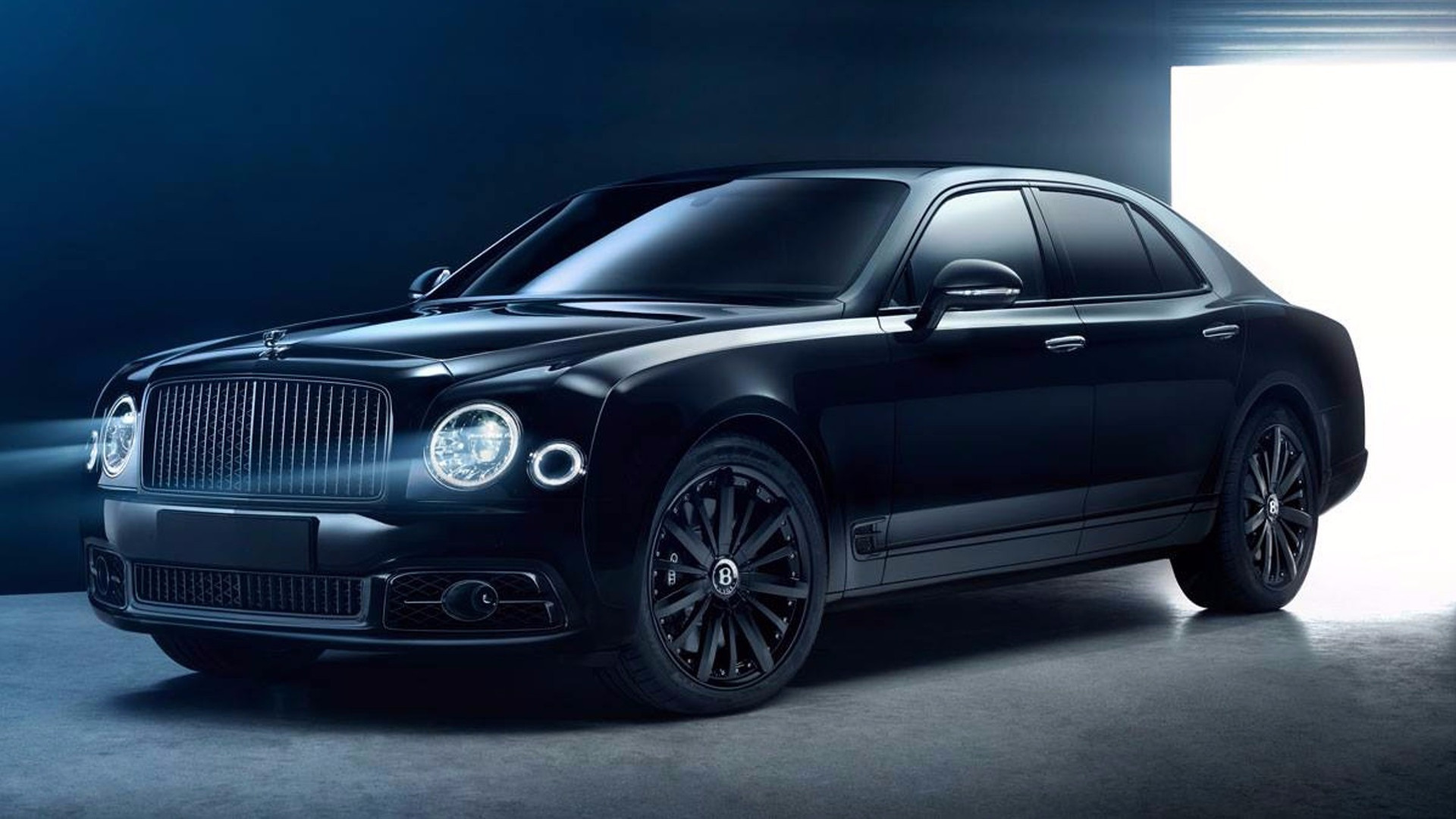 Murdered Out Bentley Mulsanne Bamford X Is Deeply Menacing