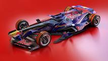 Os carros futuristas de Toro Rosso e MacLaren
