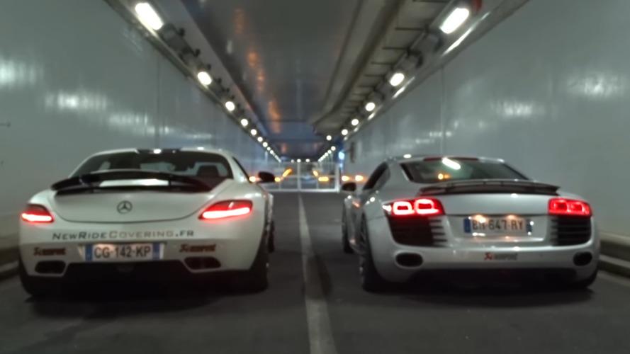 Sondage - Mercedes SLS ou Audi R8, laquelle fait le plus beau son ?