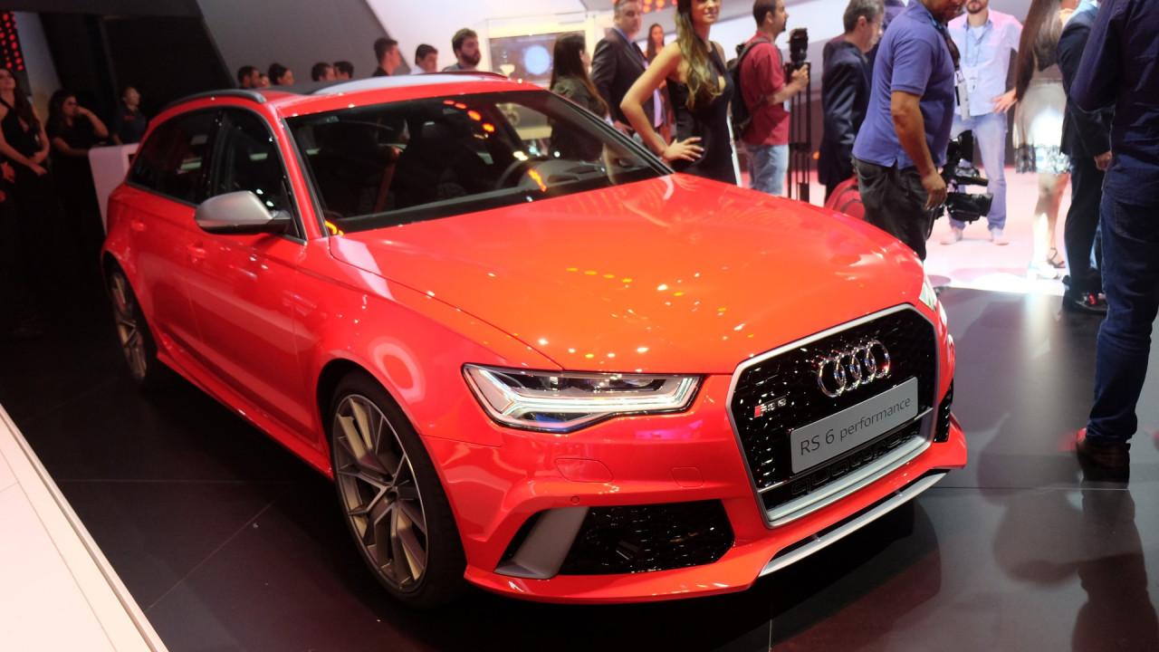 Salão do Automóvel: Audi RS 6 Avant performance traz 605 cv para a família