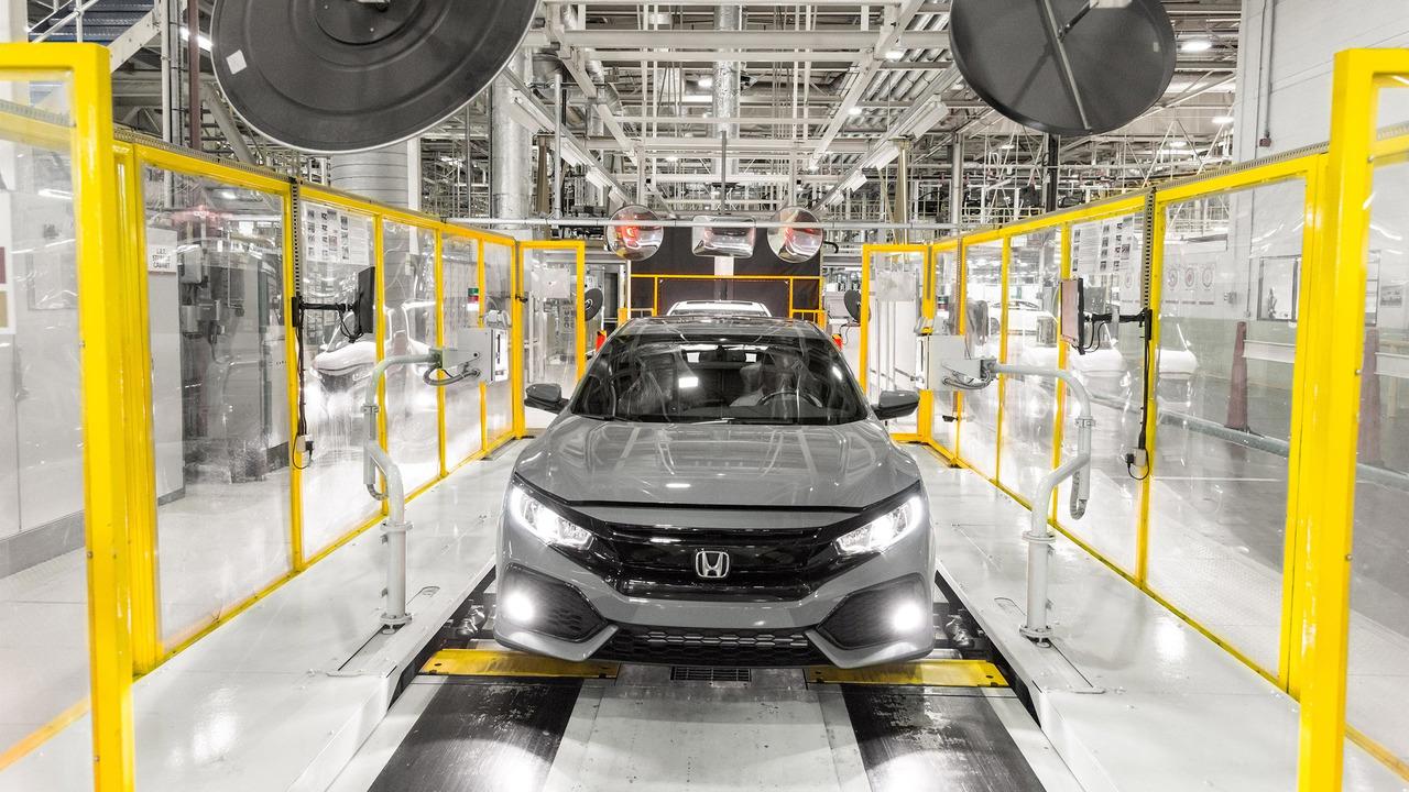 2017 Honda Civic Hatchback assembly