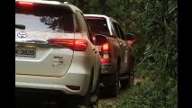 Toyota estimula uso esportivo de seus 4x4 na volta do Hilux Expedition