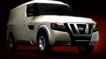 Nissan NV2500 Concept teaser image