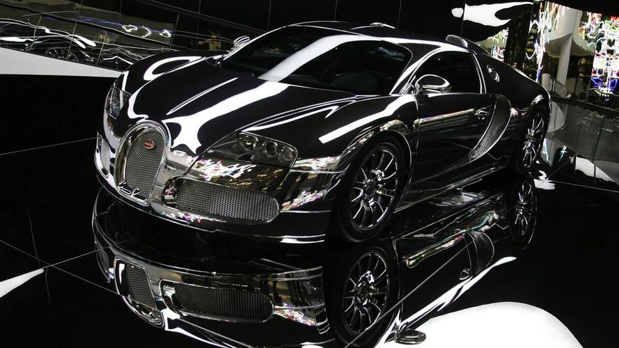 Bugatti Veyron with Mirror Finish