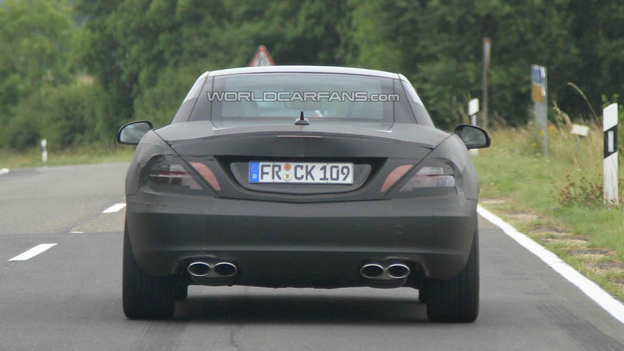 2012 Mercedes SLK Spied on video