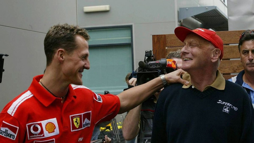 Lauda not betting on eighth Schumacher title