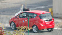 2011 Opel Meriva Spied Completely Uncovered