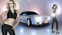 Insurance company sponsors Nissan Skyline R33 giveaway