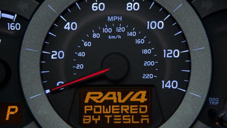 Toyota RAV4 EV teased ahead of LA debut