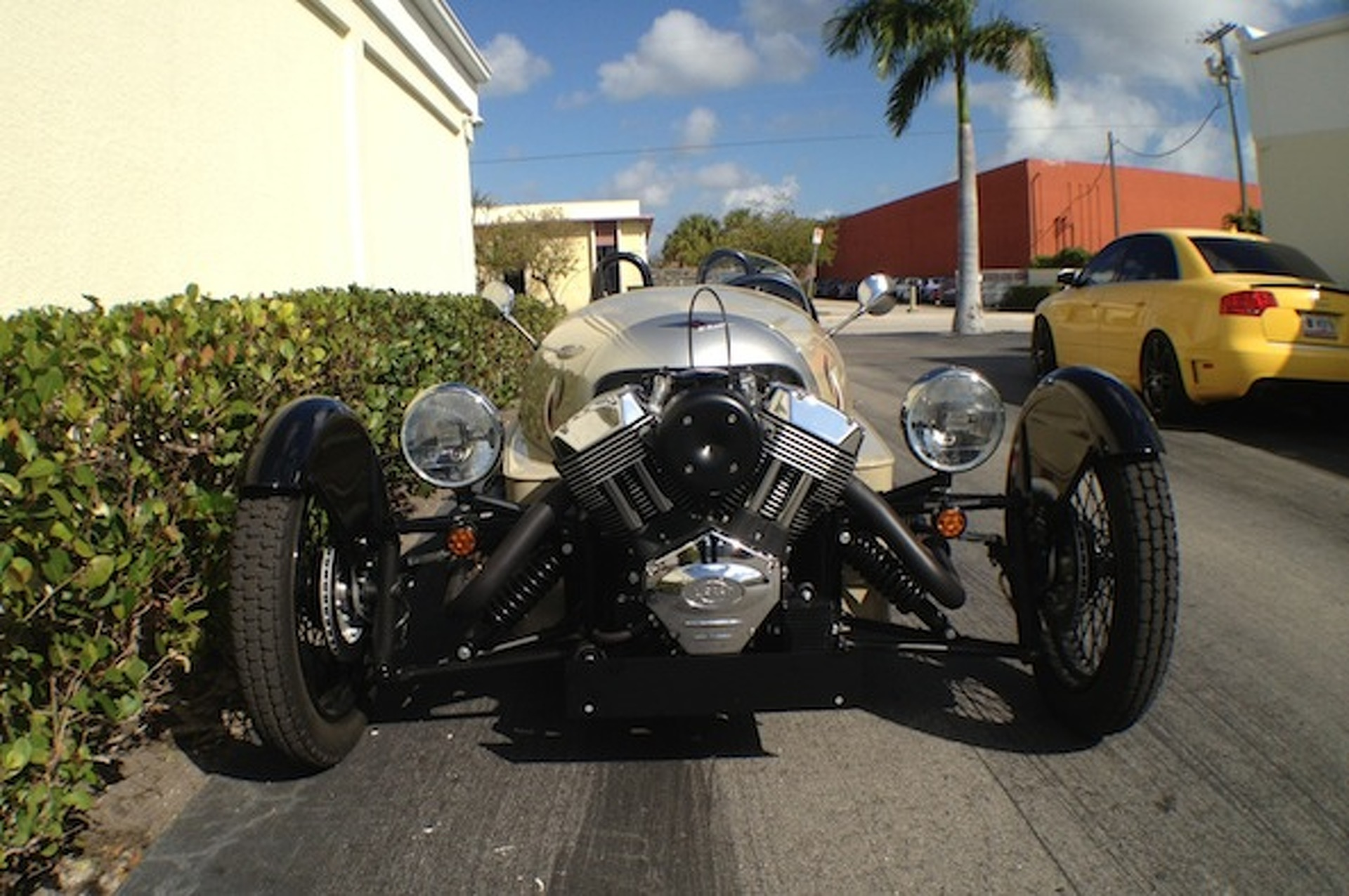 Riding Shotgun in the Awe-Inspiring Morgan Threewheeler