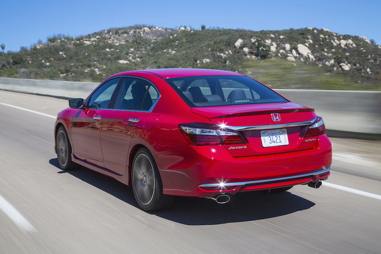 2016 Honda Accord Goes Modern With New Tech New Look First Drive