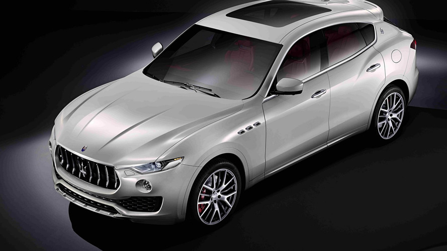 Maserati Levante officially unveiled