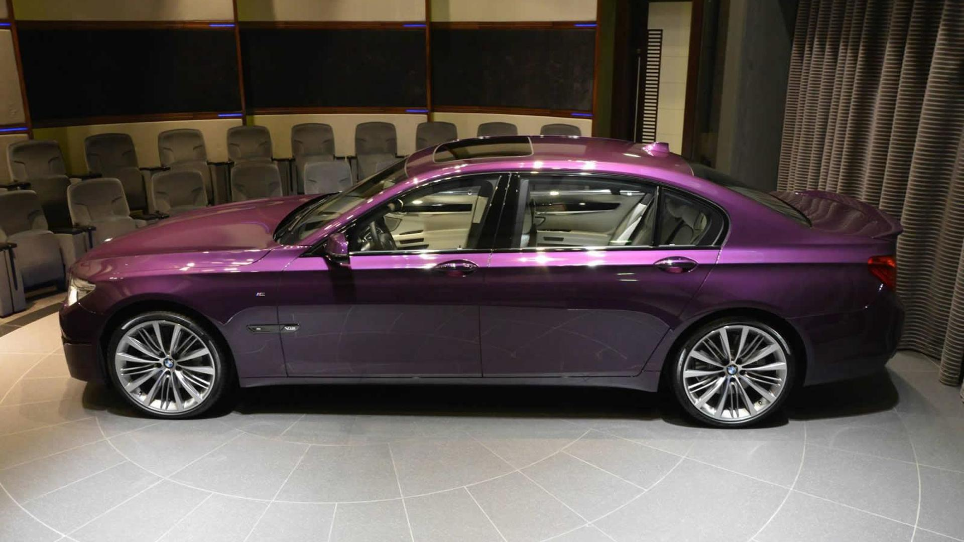 Bmw 750li For Sale >> BMW 760Li painted in Twilight Purple is a sight to behold ...