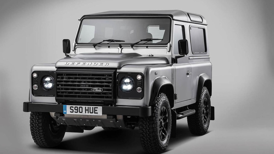 Land Rover Defender SVX, SVR, SVAutobiography on the table