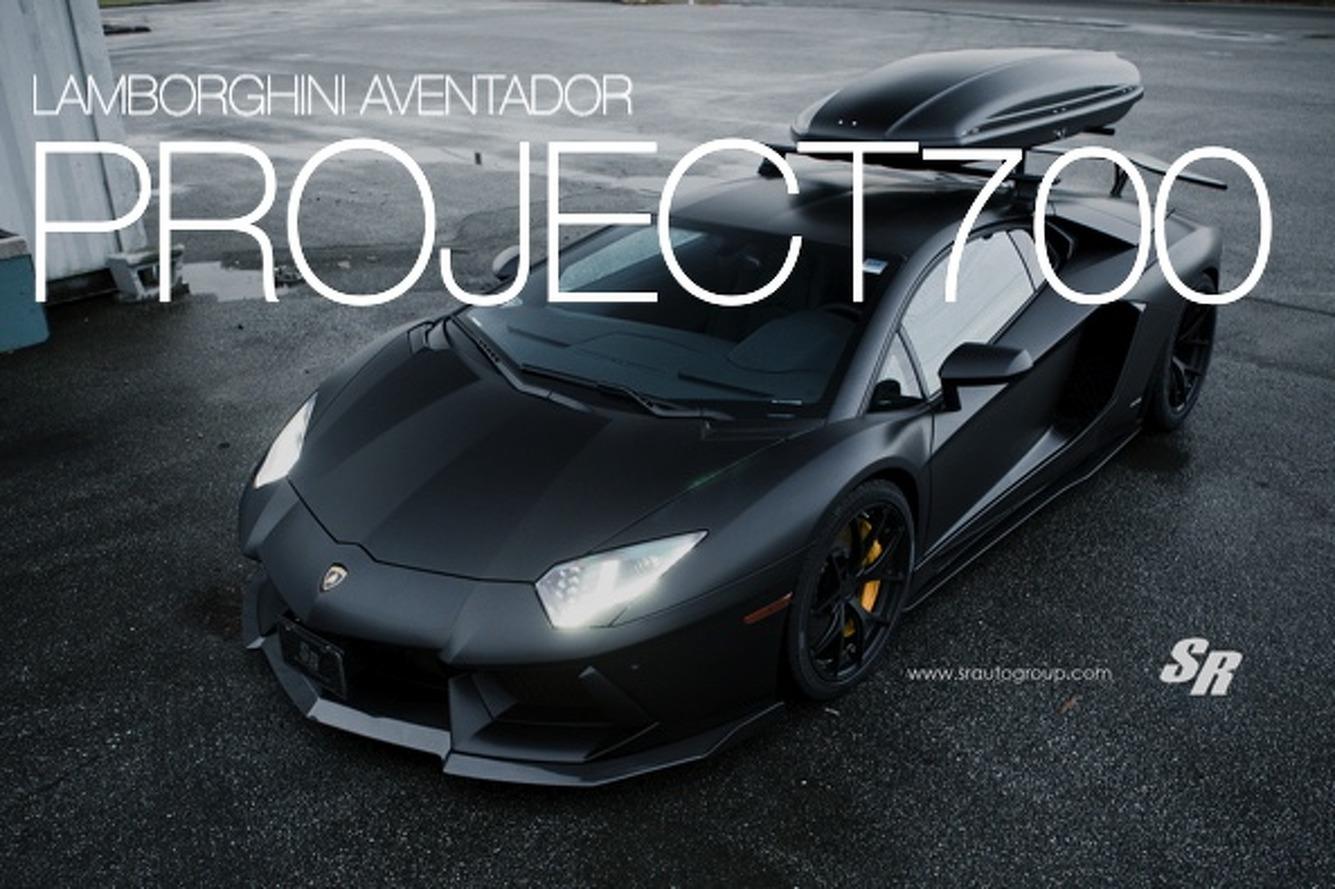 Lamborghini Aventador Project700 is Sinister in Satin