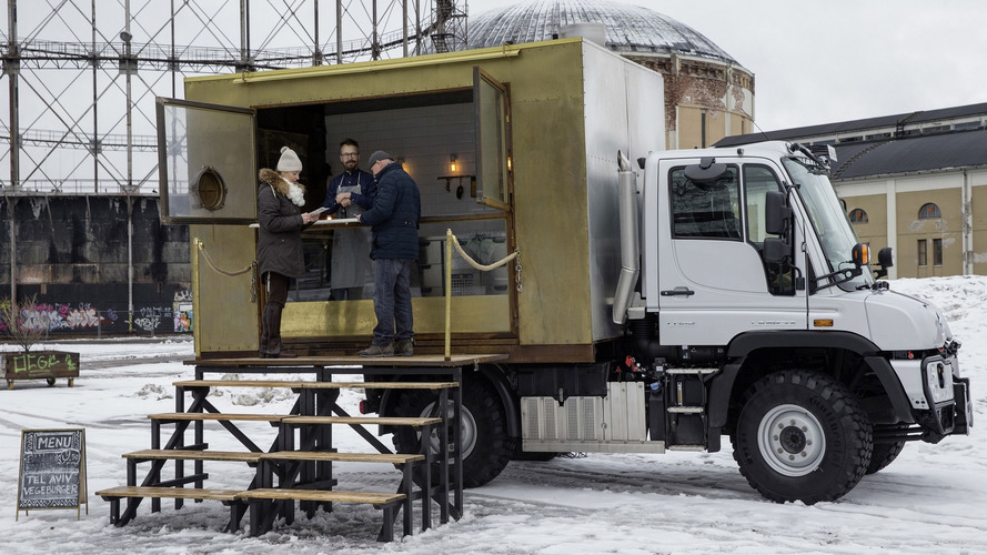 This Mercedes Unimog is the coolest food truck in Finland