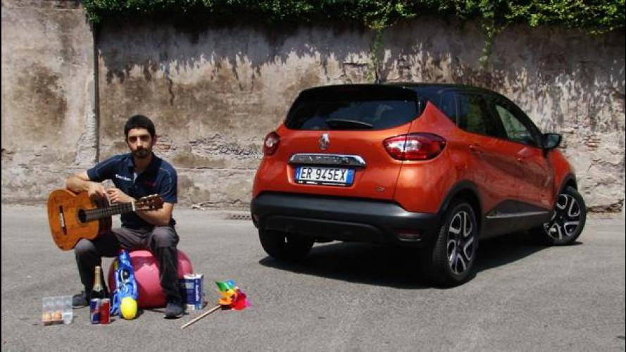 Renault Captur, come rendere un'auto più