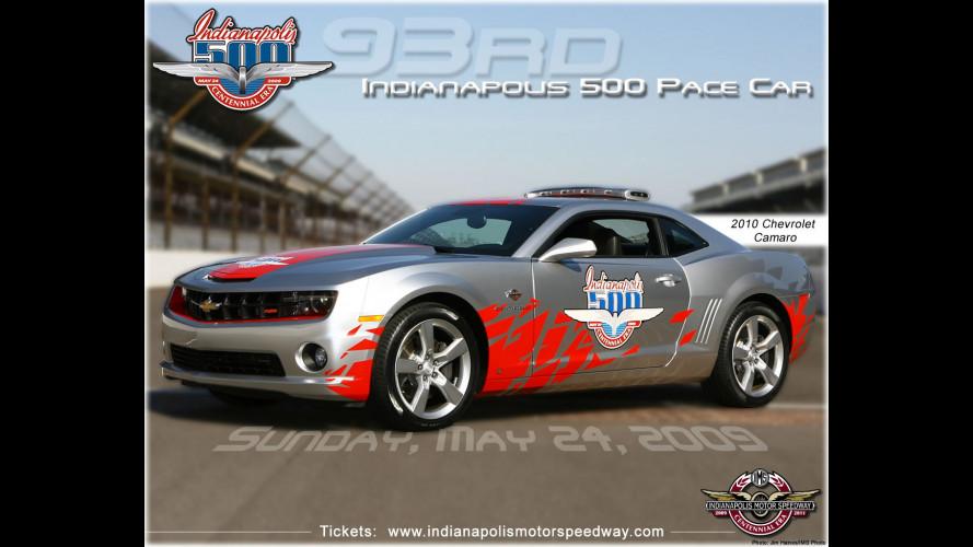 Nessuna replica per la Chevrolet Camaro Indy 500 Pace Car